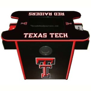 Texas Tech Red Raiders Arcade Multi-Game Machine | moneymachines.com