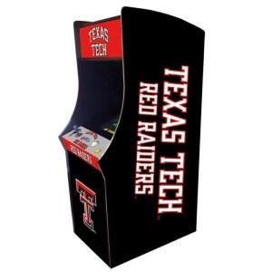 Texas Tech Red Raiders Arcade Multi-Game Machine | moneymachines.com