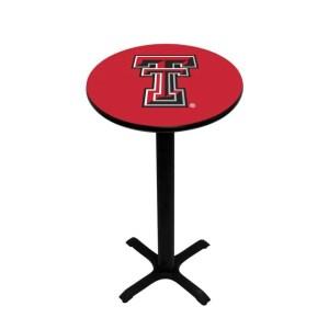 Texas Tech Red Raiders College Logo Pub Table | moneymachines.com