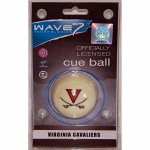 Virginia Cavaliers Billiard Cue Ball   moneymachines.com