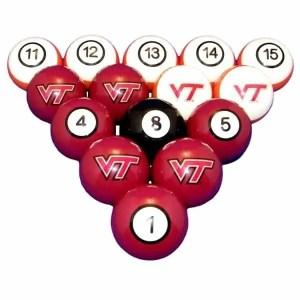 Virginia Tech Hokies Billiard Ball Set | moneymachines.com