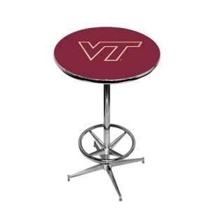 Virginia Tech Hokies College Logo Pub Table | moneymachines.com