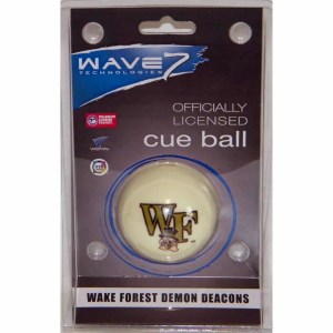 Wake Forest Demon Deacons Billiard Cue Ball | moneymachines.com