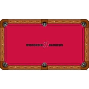 Wisconsin Badgers Billiard Table Cloth | moneymachines.com