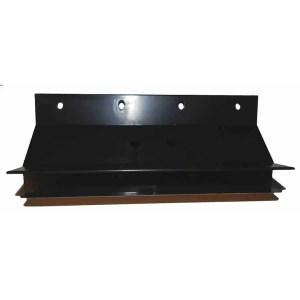 Wood Finish 7 3/4 x 3/4 Inch Plastic Pool Table Miter Corners - Set of 4 | moneymachines.com