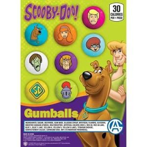 Zed Scooby Doo Gumballs - 1080 Count Case Plus 52 Free | moneymachines.com