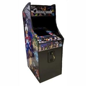 "60 in 1 Multicade Arcade Game Machine Upright - 27"" LCD Monitor | moneymachines.com"
