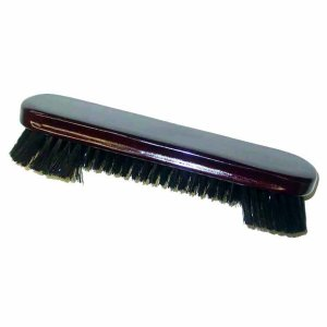 9 Inch Mahogany Finish Pool Table Cloth Cleaning Brush | moneymachines.com