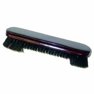 9 Inch Mahogany Finish Pool Table Cloth Cleaning Brush | moneymachines.com
