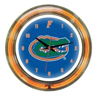 Florida Gators Neon Wall Clock | Moneymachines.com