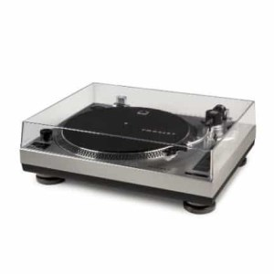 Crosley C100 Turntable - Silver   moneymachines.com