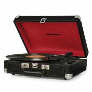 Crosley Cruiser Deluxe Turntable with Bluetooth - Black Vinyl | moneymachines.com