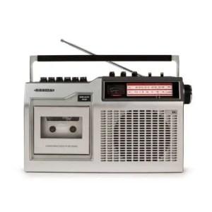 CT200 Cassette Player - Silver | moneymachines.com