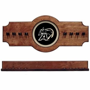 Army 2-Piece Cue Rack Pecan | Moneymachines.com