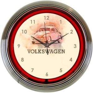 AUTO – VOLKSWAGEN BEETLE NEON CLOCK – 8VWBUG | moneymachines.com