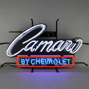 CAMARO BY CHEVROLET NEON SIGN – 5CAMCH | moneymachines.com