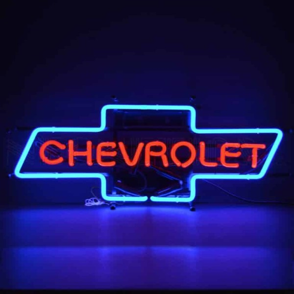 CHEVY BOWTIE NEON SIGN – 5CHVBO | moneymachines.com