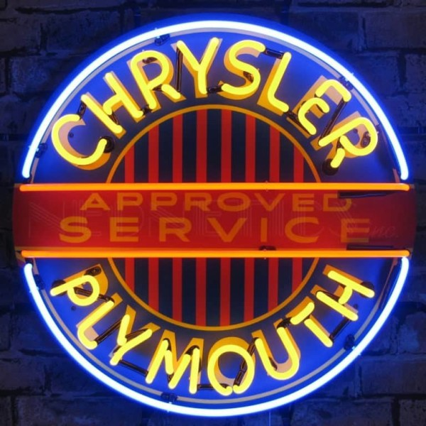 CHRYSLER/PLYMOUTH NEON SIGN | moneymachines.com