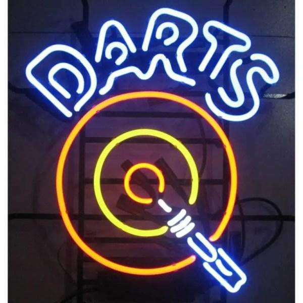 DARTS NEON SIGN – 5DARTS   moneymachines.com
