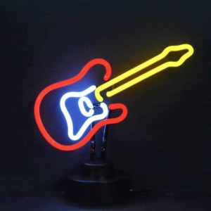 ELECTRIC GUITAR NEON SCULPTURE – 4ELECG | moneymachines.com