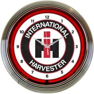 INTERNATIONAL HARVESTER NEON CLOCK – 8CASEH | moneymachines.com