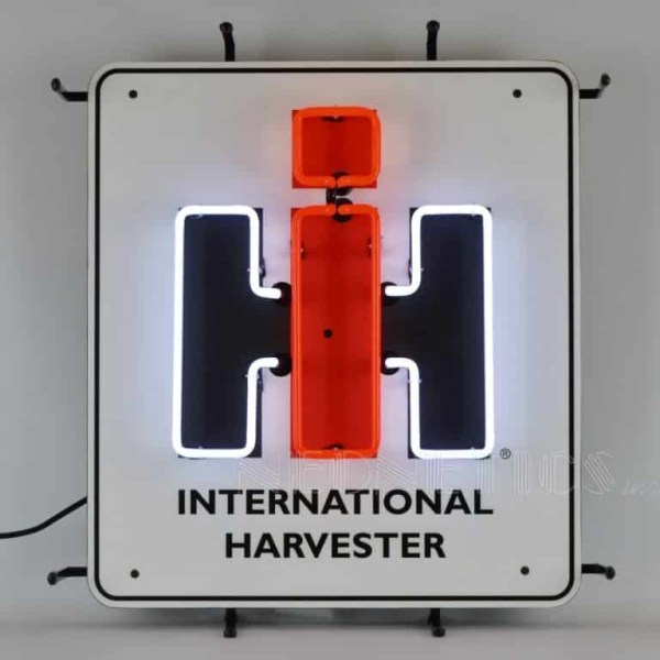 INTERNATIONAL HARVESTER NEON SIGN – 5CASEH | moneymachines.com