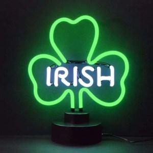IRISH SHAMROCK NEON SCULPTURE – 4IRISH   moneymachines.com