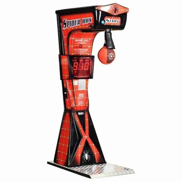 Kalkomat Spider Boxing Game Machine | moneymachines.com
