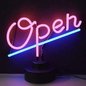 OPEN NEON SCULPTURE – 4OPENX | moneymachines.com