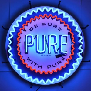 PURE GASOLINE NEON SIGN – 5GSPUR | moneymachines.com