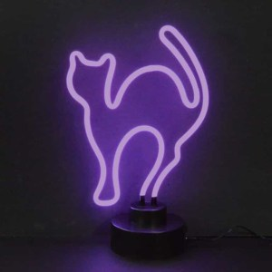 PURPLE CAT NEON SCULPTURE – 4CATMM | moneymachines.com