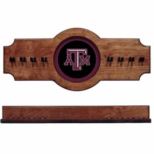 Texas A&M 2-Piece Cue Rack Pecan | Moneymachines.com