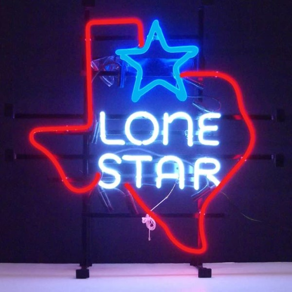 TEXAS LONE STAR NEON SIGN – 5TXSTR | moneymachines.com