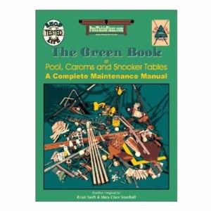 The Green Book of Pool, Carom and Snooker Tables | moneymachines.com
