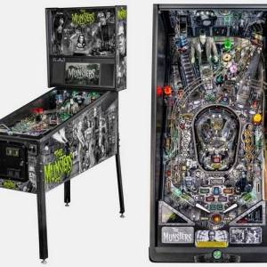 Stern's The Munsters Premium Pinball Game Machine | moneymachines.com