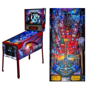Stern Star Trek Vault Premium Pinball Game Machine | moneymachines.com