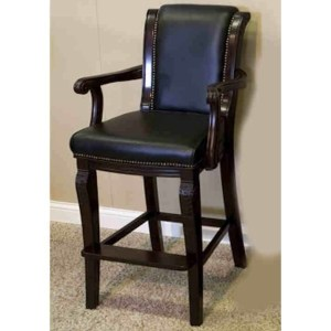 Winslow Spectator Chair With Carved Arms and Legs Mahogany | moneymachines.com