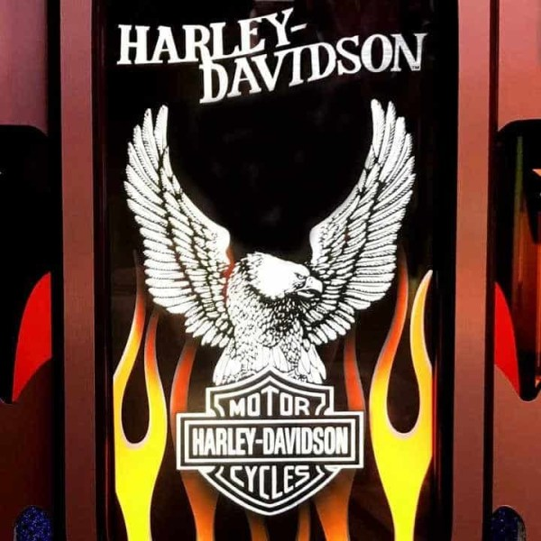 Harley Jukebox Emblem | moneymachines.com