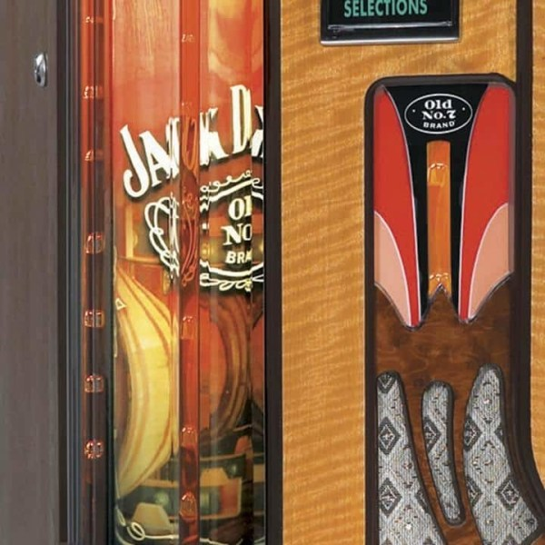 Jack Daniels CD Jukebox Column | moneymachines.com
