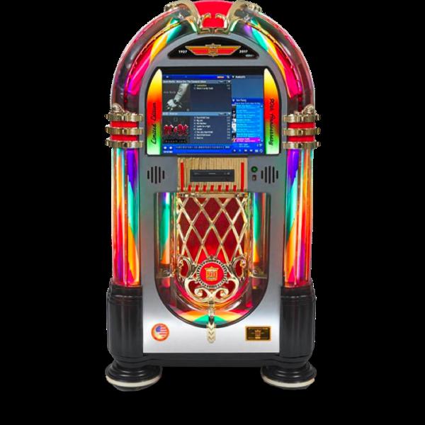 Rock-Ola Bubbler Digital Music Center - 90th Anniversary Jukebox | moneymachines.com