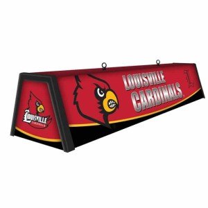 """Louisville Cardinals College 44"""" Victory Game Table Lamp 