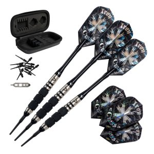 Viper Desperado Tungsten Iron Cross Soft Tip Darts | moneymachines.com