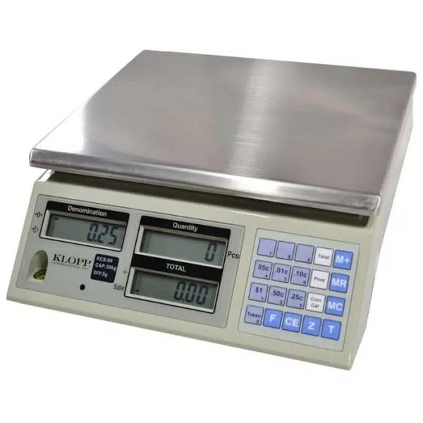 Klopp KCS-60 Coin Scale | moneymachines.com