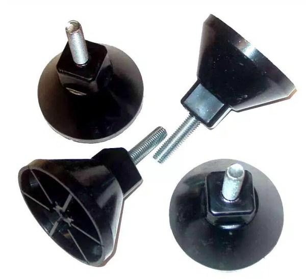 Tornado Foosball Table Feet Adjustable Leveling OEM Parts | Set of 4 | moneymachines.com