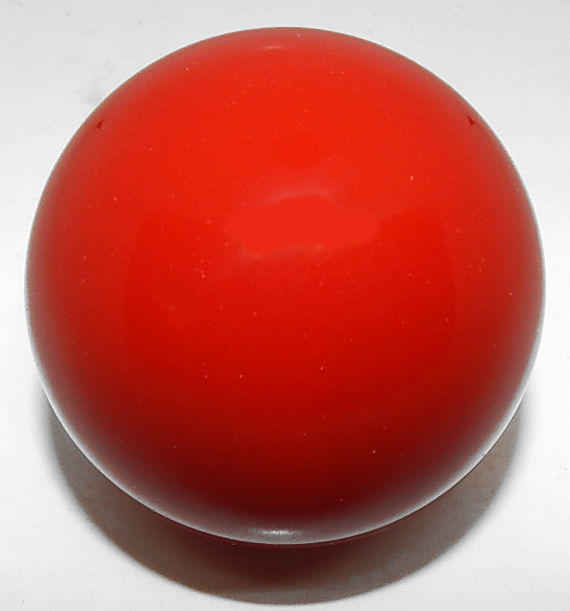 "2 1/8"" Red Pool Ball For Snooker and Bumper Pool Tables 