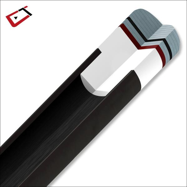 Cuetec Cynergy Wrapless Ebony Cue | moneymachines.com