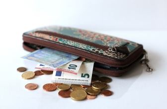 Purse full of euros