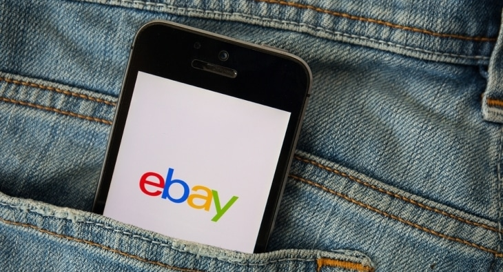 Mobile with ebay app i jean pocket