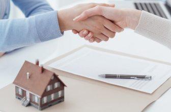 Mortgage agreement hand shake
