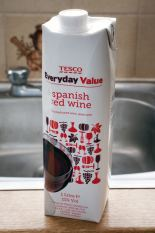 Tesco Everyday Value Spanish Red Wine Carton